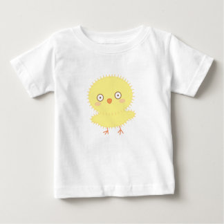 Pequeña camisa del bebé de Candi del polluelo