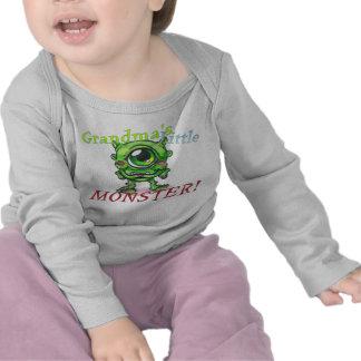 Pequeña camisa del bebé del monstruo de la abuela