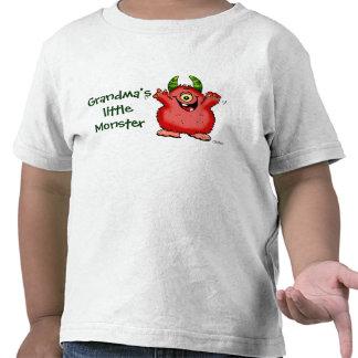 Pequeña camisa del monstruo de la mamá