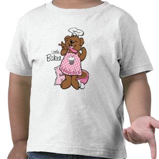 Pequeña camisa del panadero del oso
