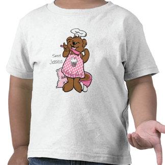 Pequeña camisa del personalizado del panadero del