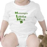 Pequeña camisa irlandesa divertida del bebé de Mic