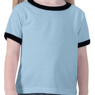 Pequeña camiseta adorable del número tres de los
