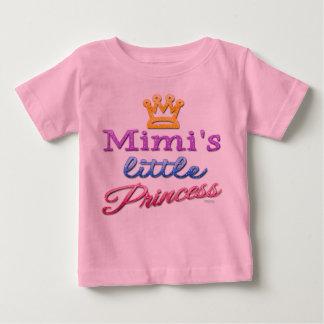 Pequeña camiseta de la princesa bebé de Mimi Poleras