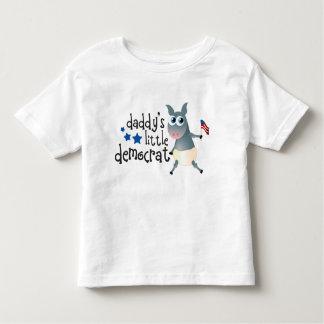 Pequeña camiseta de los niños de Demócrata del Playeras