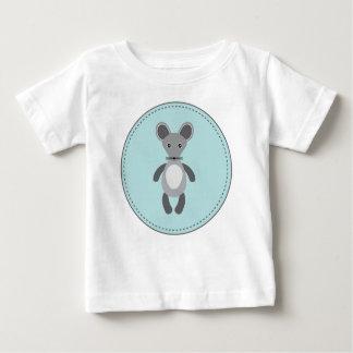 Pequeña camiseta de los niños del ratón remeras