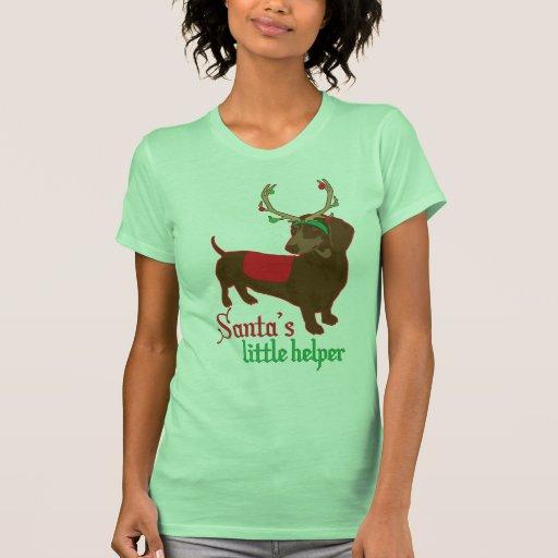 Pequeña camiseta del ayudante de Santa