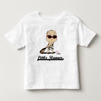Pequeña camiseta del bateador playeras