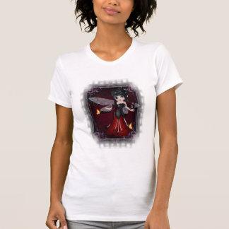 Pequeña camiseta del diseño 1 de la mariquita del poleras