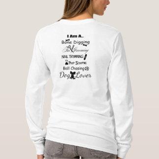 Pequeña camiseta del diseño del amante w/Black del