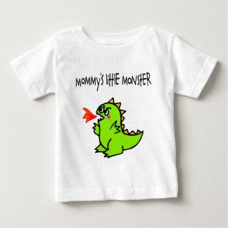 Pequeña camiseta del monstruo de la mamá (dragón) playeras
