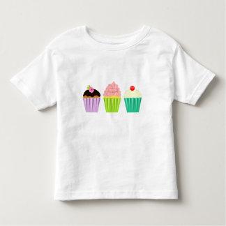 Pequeña camiseta del niño de las magdalenas playera de niño