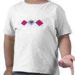 Pequeña camiseta del niño del corazón del diablo d