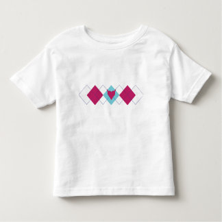 Pequeña camiseta del niño del corazón del diablo polera