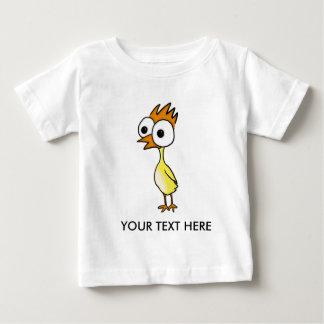 Pequeña camiseta del niño del polluelo playeras