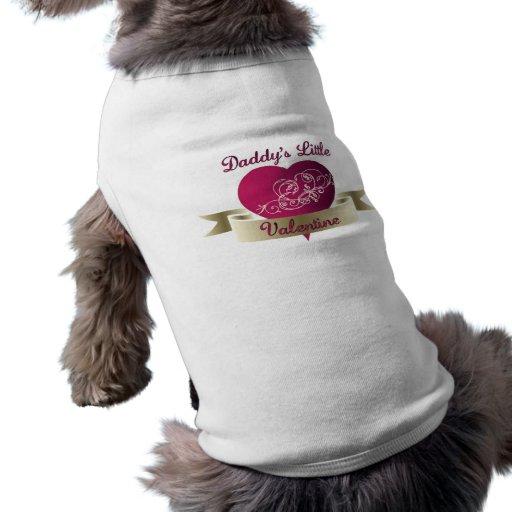 Pequeña camiseta del perro de la tarjeta del día d playera sin mangas para perro