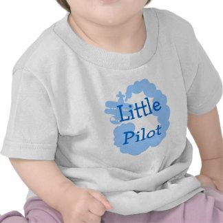 Pequeña camiseta experimental del bebé con el airp