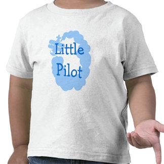 Pequeña camiseta experimental del niño con el airp