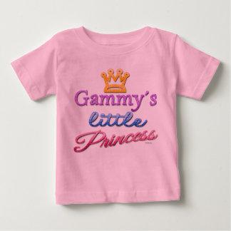 Pequeña camiseta Gammy de la princesa bebé Remeras