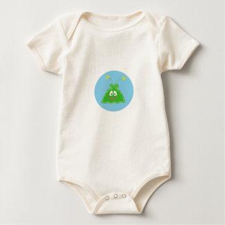 Pequeña camiseta infantil extranjera feliz