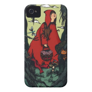 Pequeña caperuza rouge.jpg Case-Mate iPhone 4 cárcasas