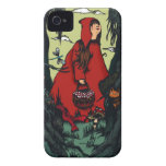 Pequeña caperuza rouge.jpg Case-Mate iPhone 4 protectores