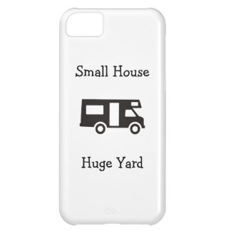"""""""Pequeña casa. Caso temático del iPhone de rv de l Funda Para iPhone 5C"""