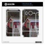 pequeña casa y mar skins para HTC desire HD