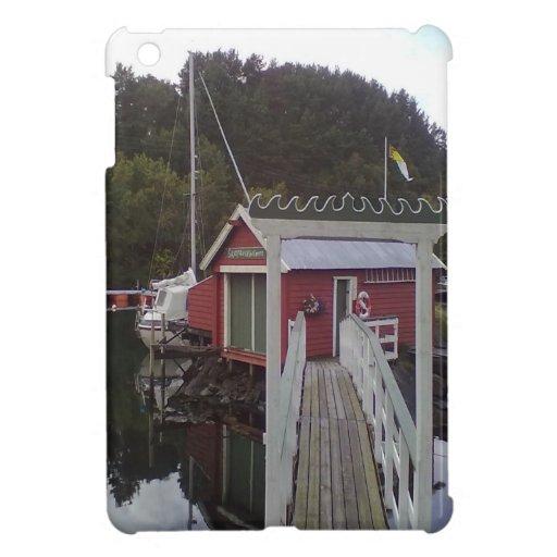 pequeña casa y sea.jpg iPad mini cárcasa