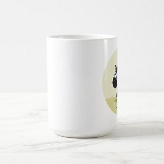Pequeña cebra linda taza de café