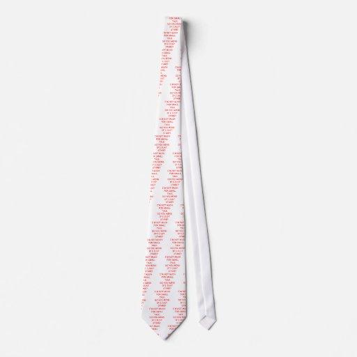 pequeña charla corbata personalizada