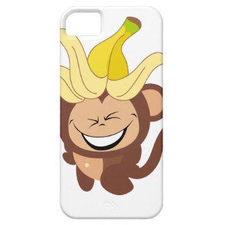 Pequeña colección 104 del mono funda para iPhone 5 barely there