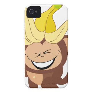 Pequeña colección 104 del mono iPhone 4 cárcasa