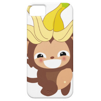 Pequeña colección 111 del mono funda para iPhone 5 barely there