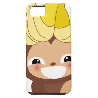 Pequeña colección 111 del mono iPhone 5 fundas