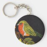 Pequeña colección del pájaro llaveros personalizados