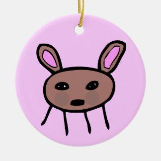 Pequeña Criatura/Small Critter Ceramic Ornament