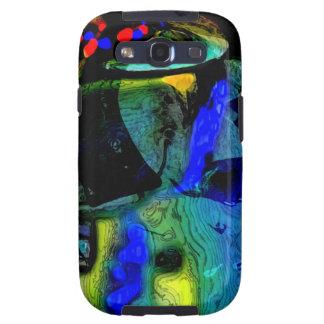 Pequeña de Srta. caja de la galaxia chagally Samsu Samsung Galaxy S3 Funda