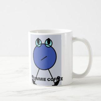 """Pequeña del """"taza de café azul café de Gimmie"""" del"""