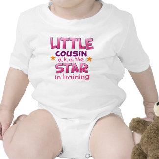 Pequeña estrella del primo trajes de bebé