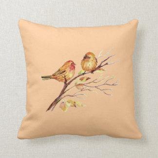 Pequeña fauna linda de la naturaleza de los pájaro cojin