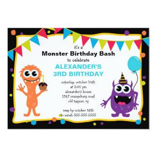 Pequeña fiesta de cumpleaños LINDA del golpe del Invitacion Personal