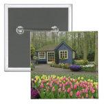 Pequeña floristería de la cabaña, jardines de Keuk Pin Cuadrada 5 Cm