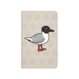 Pequeña gaviota de Birdorable Cuadernos