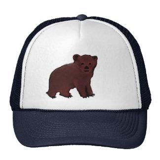 Pequeña gorra de béisbol de Cub de oso