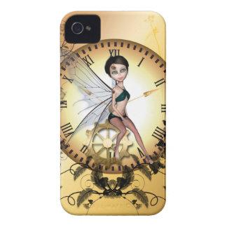Pequeña hada linda del steampunk carcasa para iPhone 4 de Case-Mate