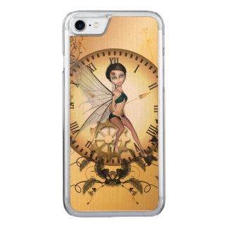 Pequeña hada linda del steampunk funda para iPhone 7