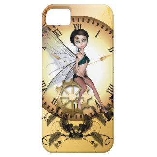 Pequeña hada linda del steampunk funda para iPhone SE/5/5s