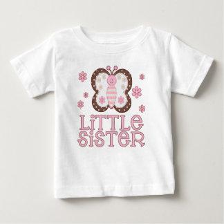 Pequeña hermana de la mariposa rosada playeras