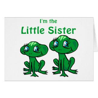 pequeña hermana de la rana felicitacion